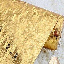 Hintergrundbild Goldene silbrige PVC-Tapete KTV