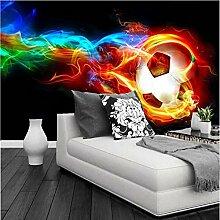 Hintergrundbild Kühle Farbe Fußball 3D