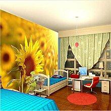 Hintergrundbild Schöne Sonnenblume Fototapete