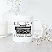 Hip Hop Never Dies/Mug/Vintage Hip Hop / 90s Hip