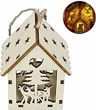 Hippicity Christbaumanhänger Ornamente Kleine