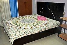 Hippie Bettunterlagen indischen Mandala Wandbehang