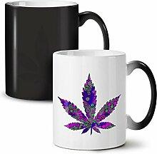 Hippie Freiheit Pflanze Schwarz Farbwechsel Tee