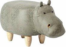 Hippo Geformt Tier Fußhocker,polstermöbel Pouf