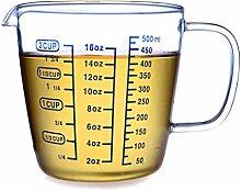 Hipsteen Hitzebeständig Glas Messbecher Measuring