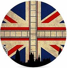 Hipster Vintage Britische Flagge Muster mit