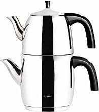 Hisar Tealove Türkische Teekanne, Medium,