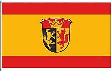 Hissflagge Biebertal - 120 x 200cm - Flagge und