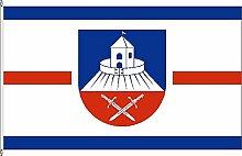 Hissflagge Borstorf - 150 x 250cm - Flagge und