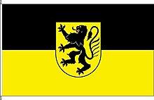 Hissflagge Großenhain - 150 x 250cm - Flagge und