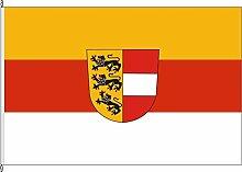 Hissflagge Landkreis Konstanz - 150 x 250cm - Flagge und Fahne
