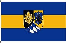 Hissflagge Landkreis Unterallgäu - 150 x 250cm - Flagge und Fahne