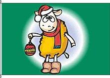 Hissflagge Weihnachts-Mäh - 150 x 250cm - Flagge und Fahne