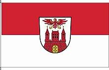 Hissflagge Wittenberge - 150 x 250cm - Flagge und