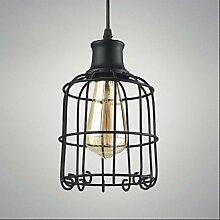 Histone Retro-Lampe Kronleuchter Beleuchtung Kronleuchter Lampe Käfig , 220-240v
