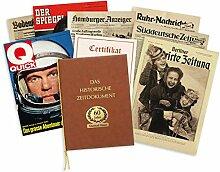 HISTORIA Historische Zeitung als Geschenkidee zum