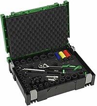Hitachi 95000572 39-tlg. Car Steckschlüsselsatz