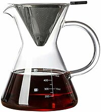 Hitzebeständiges Glas Kaffee 600 ml / 800 ml
