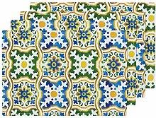 Hitzebeständiges Tischset, spanische Fliese