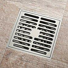 Hiwenr Bad Abfluss Messing Quadrat Dusche