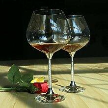 HJB Kristall Weinglas Becher für Hochzeit