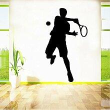 Hjcmhjc Abnehmbare Tennis Wandaufkleber Dekorative