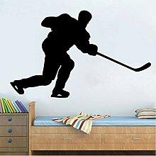 Hjcmhjc Eishockey Sport Wandtattoos Wanddekoration