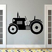 Hjcmhjc Traktor Wandtattoo Große Reifen Farmer