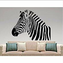 (Hjcmhjc) Zebra Wandtattoo Removable African