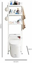 HJFGSAK Badezimmerregal 2 / 3Tiers Toilettenregal