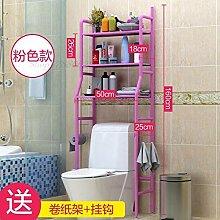 HJFGSAK Badezimmerregal Badezimmer Lagerung