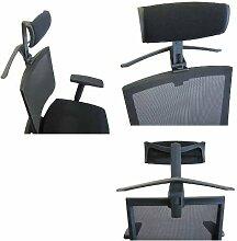 hjh OFFICE 657239 Kleiderbügel für Bürostuhl PORTO MAX/MAX HIGH