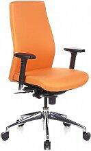 hjh OFFICE 710010 Bürostuhl / Chefsessel SKAVE 200 orange