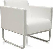 hjh OFFICE 713321 Lounge-Sessel ARUBA Kunstleder