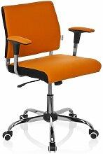hjh OFFICE 719120 Büro-/Dreh Stuhl, Avida, orange