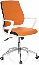 hjh OFFICE 719190 Büro-/Dreh Stuhl, Estra, orange