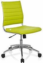 hjh OFFICE 720005 Bürostuhl Drehstuhl Trisha Kunstleder, grün
