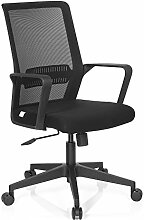 hjh OFFICE 732030 PRESTON Bürostuhl, Stoff, schwarz