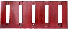HJHY® Becherhalter Massivholz hängenden Weinglas Rack Kreativität Inverted Hohe Becherhalter Einfache Haushalt Rotwein Glashalter Boutique/Maison/Bar (Farbe : #1, größe : 59.6*25cm)