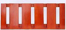 HJHY® Becherhalter Massivholz hängenden Weinglas Rack Kreativität Inverted Hohe Becherhalter Einfache Haushalt Rotwein Glashalter Boutique/Maison/Bar (Farbe : #4, größe : 59.6*25cm)