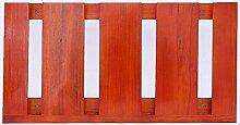 HJHY® Becherhalter Massivholz hängenden Weinglas Rack Kreativität Inverted Hohe Becherhalter Einfache Haushalt Rotwein Glashalter Boutique/Maison/Bar (Farbe : #4, größe : 48*25cm)