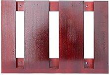 HJHY® Becherhalter Massivholz hängenden Weinglas Rack Kreativität Inverted Hohe Becherhalter Einfache Haushalt Rotwein Glashalter Boutique/Maison/Bar (Farbe : #1, größe : 36.4*25cm)