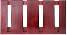HJHY® Becherhalter Massivholz hängenden Weinglas Rack Kreativität Inverted Hohe Becherhalter Einfache Haushalt Rotwein Glashalter Boutique/Maison/Bar (Farbe : #1, größe : 48*25cm)
