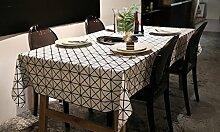 hjhy® Moderne Tischdecke, mit Raster