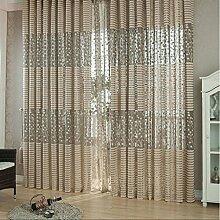 HJL Art- und WeiseTürvorhang-Fenster für Raum-einfaches und bequemes Vorhang-Schlafzimmer (100*200cm)