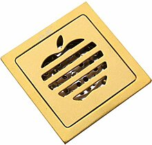 HJL Edelstahl Bodenablauf Verdickung Deodorant