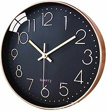 HJQ 12-Zoll-Uhr Uhr Wanduhr Quarzuhr Moderne