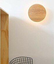 HJW Dekorative Beleuchtung Wandlampe Schlafzimmer