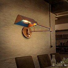 HJW Dekorative Beleuchtung Wandleuchte Asl Retro