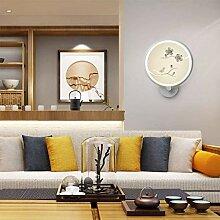 HJW Dekorative Beleuchtung Wandleuchte Chinese Art